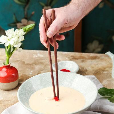 Суп кокосовый с морепродуктами