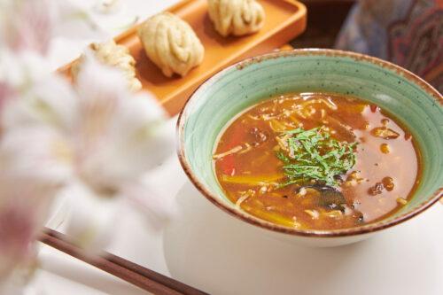 Суп с уткой и домашней лапшой